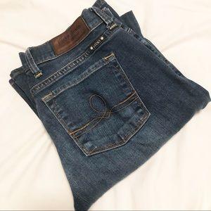 Lucky Brand Sofia Boot Dark Blue Denim Jeans